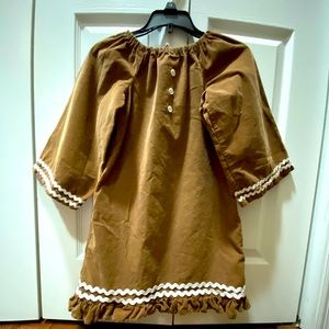 Gingerbread Girl Dress size 3-4